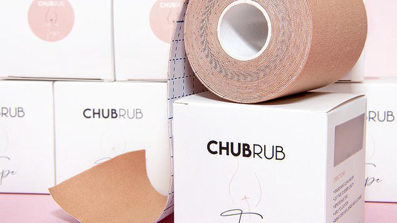 The rise of 'chub rub': The world's first tape designed to prevent chafing launches in Australia