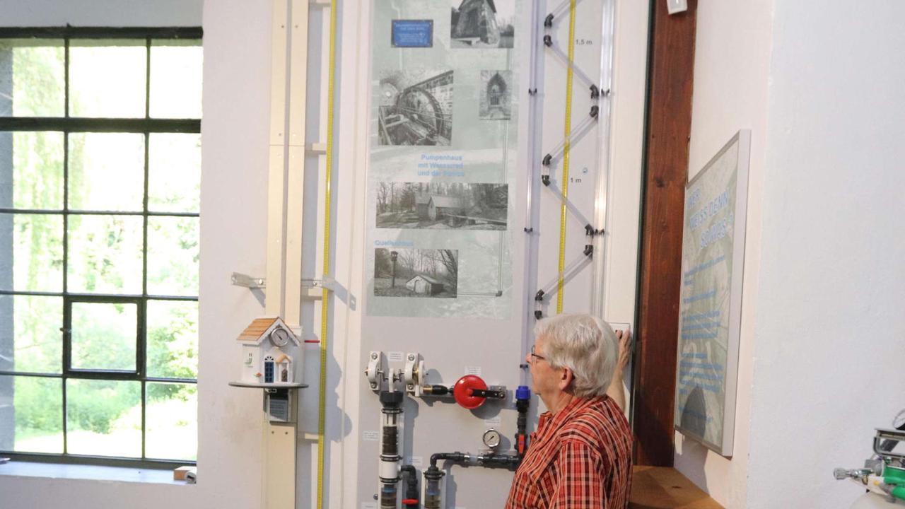 Ausstellungsraum im Maschinenhaus im Brunnental kurz vor der Fertigstellung