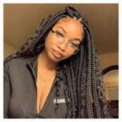 Ladies, Check Out Super Stylish Box Braids You Should Definitely Get This Season.
