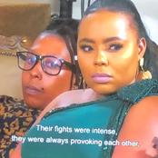 Rate Precious, Mpumi's wife's make up. I saw gold everywhere.[Opinion]