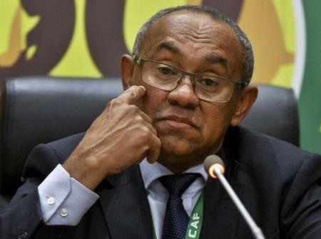 CAF President, Mr. Ahmad handed a five year ban by FIFA. Find out why