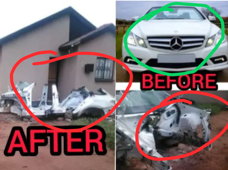 Hours After Thieves Hijacked A Brand New Car, See What They Turned It Into That Got People Talking