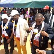 Législatives/ Bangolo : Tailly Thierry verse des cadeaux sur des populations.