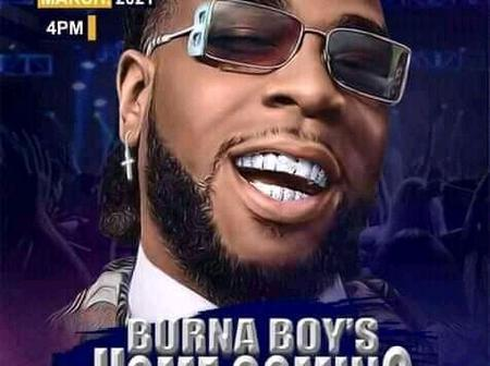 Rivers state government to host Burna boy home coming concert