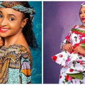 Latest Beautiful Pictures of Rahama Sadau and Amina Amal