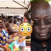 It is not true- Ashanti region chief seizes Nana Addo's speech and causes massive stir