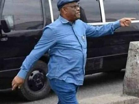 When you see Wike wear this combination of clothes, know that he is on a confrontational mission.