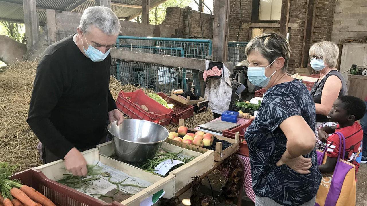 Hergnies: au rendez-vous des gourmands, nouveau marché à la ferme