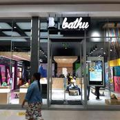 Bathu shop opened today at Acornhoek mall.