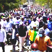 PHOTOS: Thousands Escort DP Ruto In Embakasi As He Brings A School To A Standstill