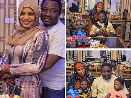 Fati Ladan's Husband Shettima Yerima Loses Mother.