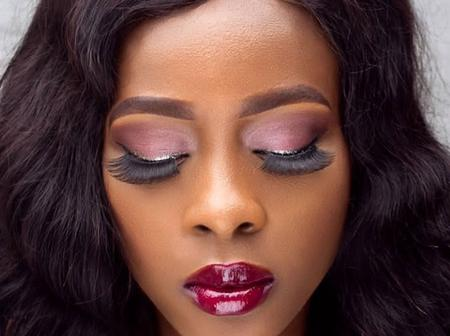 Until her death she was a creative makeup artist see the creative works of Ada Ameh's late daughter
