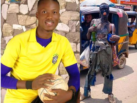 Check Out More Photos Of The Guy Who Was Mistaken For A Mad Man On A Rag Day