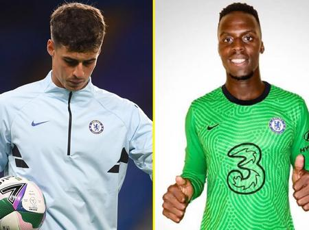 Goodbye Kepa As Mendy Is Confirmed Chelsea's First Choice Goalkeeper By Lampard