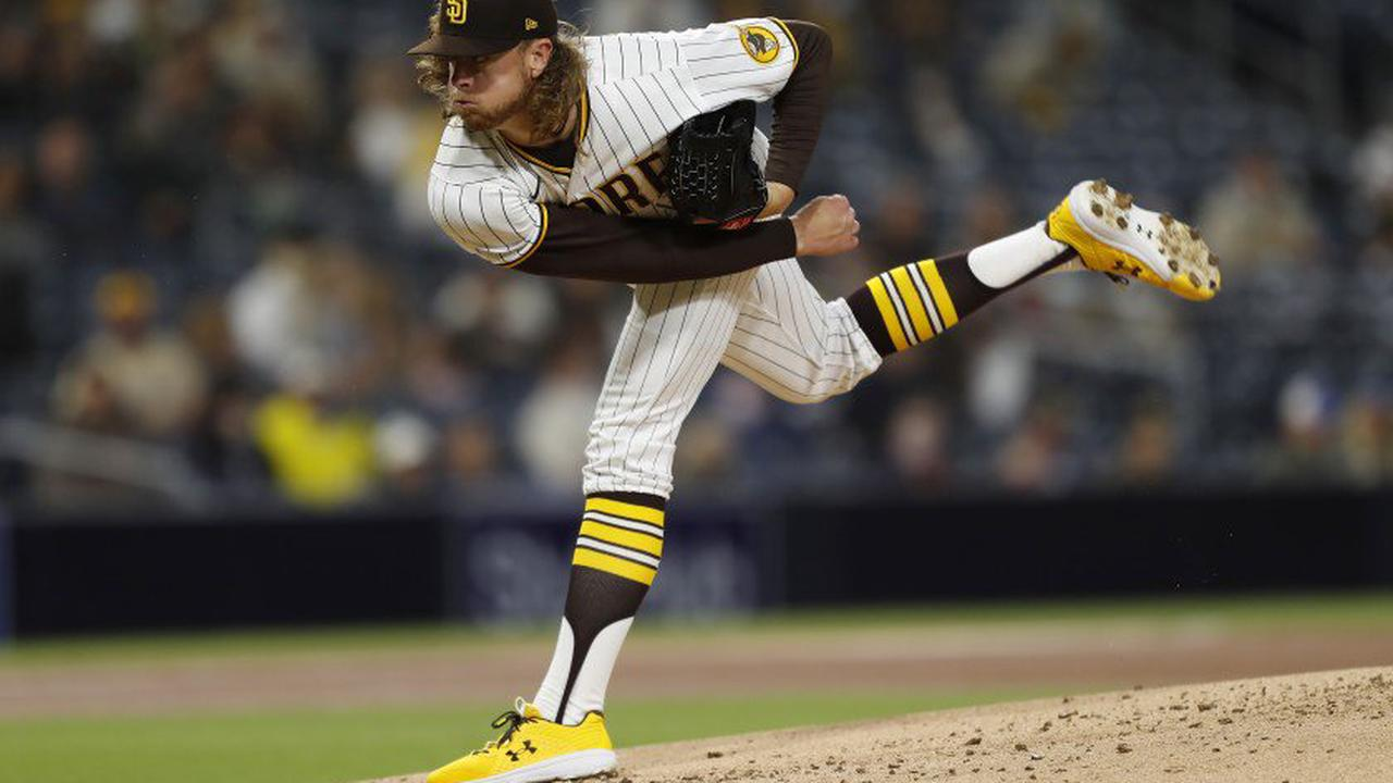 Padres' Chris Paddack: No-decision in short outing