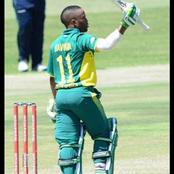 Temba Bavuma continues to make History in the Cricket's National team