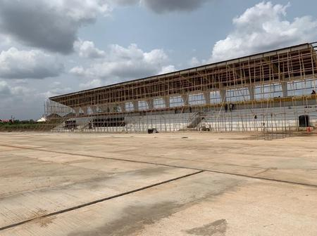 Check Out Updates on The Construction of Awka City Stadium In Anambra State