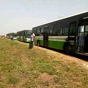BOUAKÉ : Des bus flambant neufs de la Sotra ont fait leur entrée dans la ville ce 24 février 2021