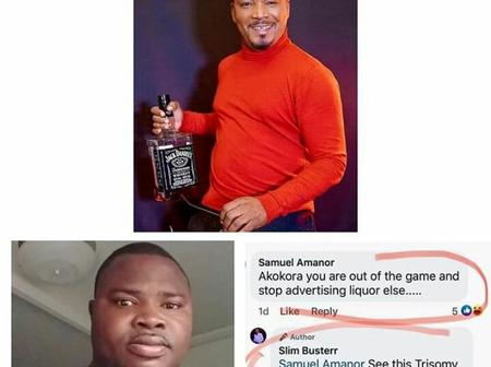 Slim Buster Descends On A Fan Who Called Him Akokora