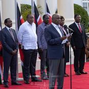 Raila To Form Government With Uhuru, Mudavadi, Gideon, And Kalonzo. No Raila, Ruto Coalition- ODM MP