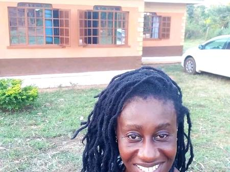Fans Reacts as Ex-Papa Shirandula's Wilbroda Flaunts Her Mothers Mansion in a Photo