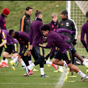 Check out Pictures of Manchester United's last training session ahead of tie against Sociedad