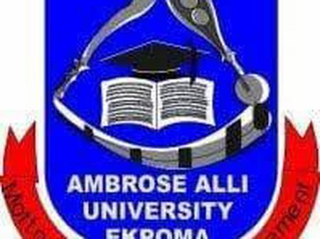 Ambrose Alli University releases its Supplementary admission list for Utme/direct entry students