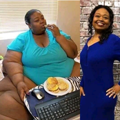 See The Transformation Of This Extremely Plus Size Lady That Seems Impossible For People To Believe