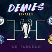 Official: Here are the confirmed UEFA Champions League Semi-final fixtures