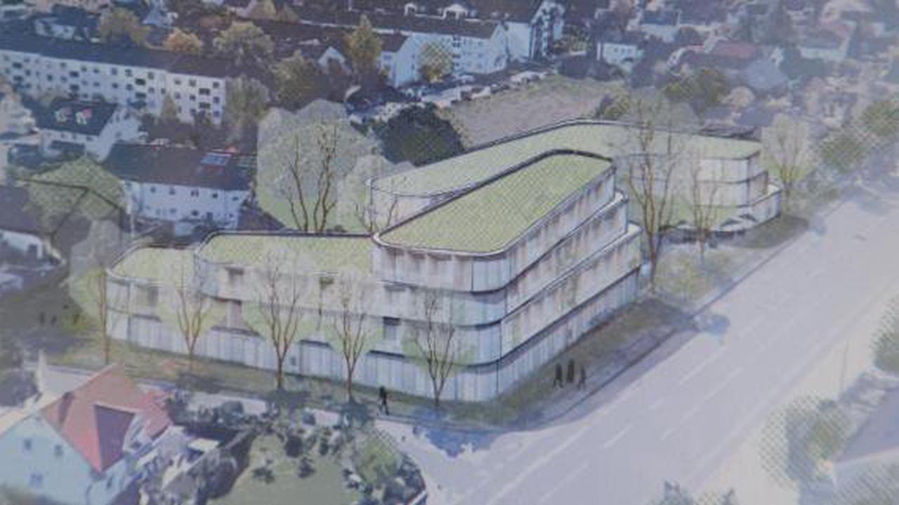 Königsbrunn: Königsbrunn will an der Haunstetter Straße ein Studentenwohnheim bauen