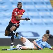 No Manchester City player dribbled past this United player during the game