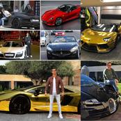Exclusive Photos Of Cristiano Ronaldo's Cars Check It Out For Yourself