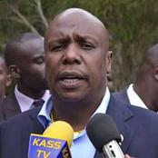 """""""If Asked to go For Presidency, I Will Listen to Them,"""" Gideon Moi Says"""