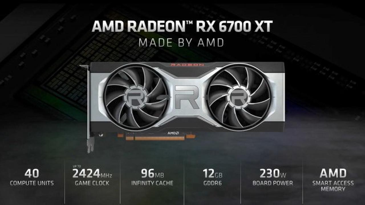 AMD Radeon RX 6700 XT announced: starts at $479, launches March 18
