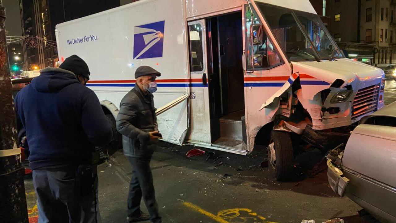 Homeless woman in Brooklyn charged with taking U.S. Postal Service truck on joyride