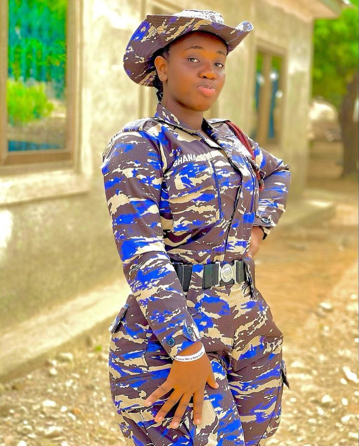ec9aca9039f54862a1b35272e014df50?quality=uhq&resize=720 - 10 Times Ghana's 'Hottest' Police Officer, Ama Dufie Stun Fans With Her Beauty & Curves