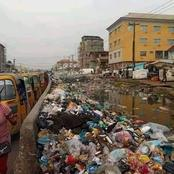 This is Ariria market, 8th busiest market in the whole of Nigeria and dirtiest in Africa