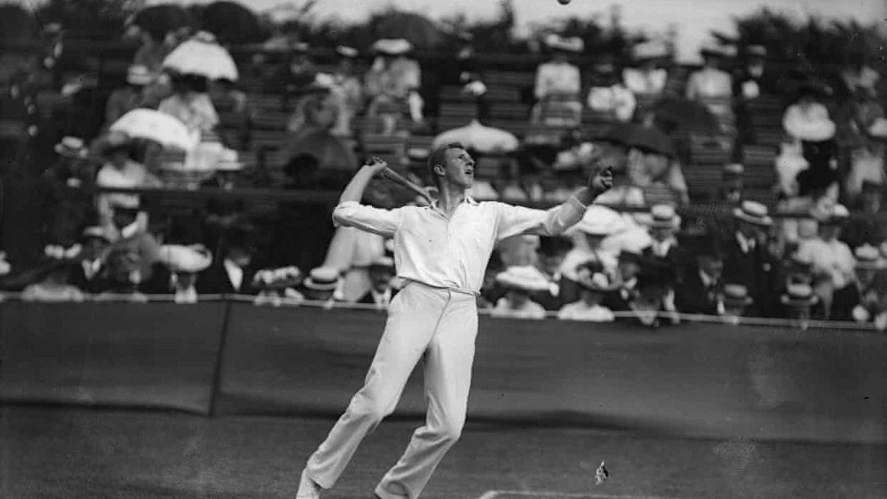 Anthony Wilding on how to become a tennis champion – archive, 14 May 1912