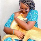 Meet Gloria Kyallo's Favourable Pet