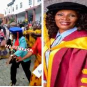 Video: Meet The First Woman To Become Vice Chancellor Of Federal University Of Technology Owerri