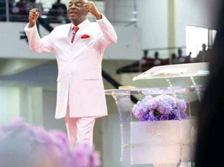 Reactions as Bishop Oyedepo says,