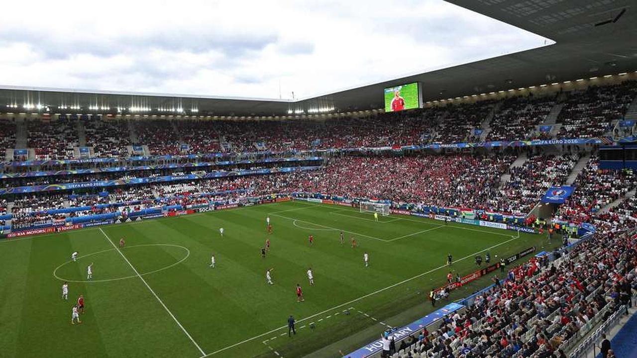 Bordeaux: la Métropole condamnée à payer 650000euros au stade Matmut pour l'Euro 2016
