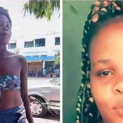 Do You Know Her? Beautiful Girl Runs Mad While In Mombasa, Becomes Homeless