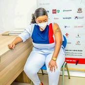 Rev Lucy Natasha Pictures When Getting Vaccinated And See What People Saw