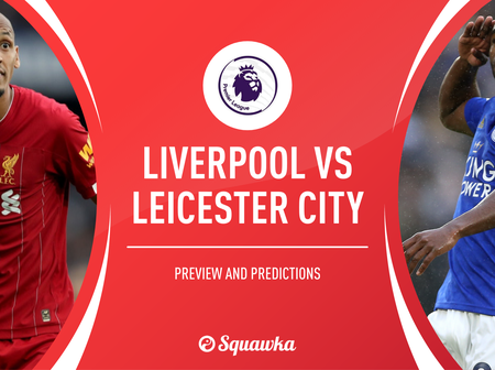 See 5 reasons why Liverpool will struggle to win against Leicester City in Tonight's EPL Match.