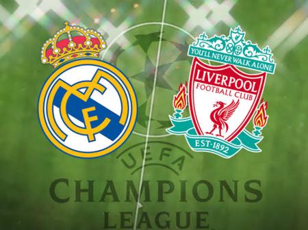 Real Madrid Versus Liverpool: Teams News & Predicted Lineups