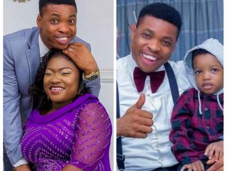 'God blesses the day we met', Comedian Woli Agba celebrates 4th wedding anniversary with wife.