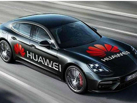 Take A Look At Huawei's Electric Car
