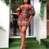 Serve chic Looks in these 19 Adorable Ankara short gowns.