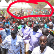 After Zooming DP Ruto Photo See What The Crowd At The Back Found Doing